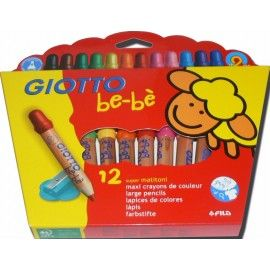 Giotto Bebe Lapices X12 Colores
